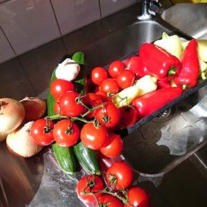 ingredienser till balkansallad